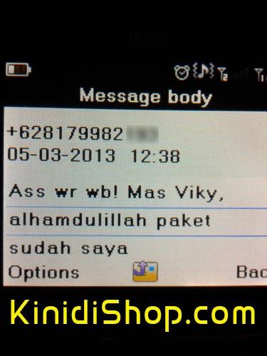 Testimonial Konsumen KinidiShop.com