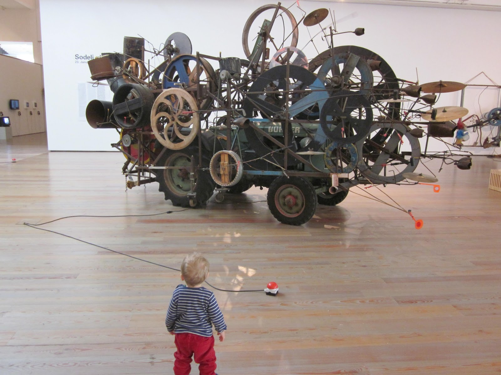 Small Fish In The Big Taco Jean Tinguely Museum Basel