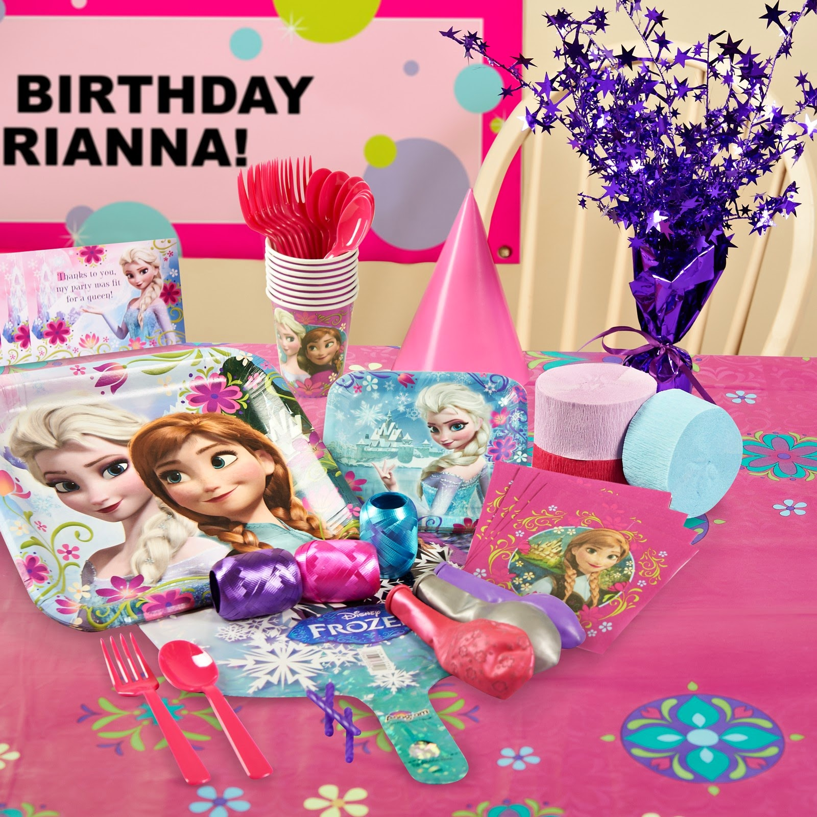 GreyGrey Designs: Giveaway! Frozen Birthday Party Pack For