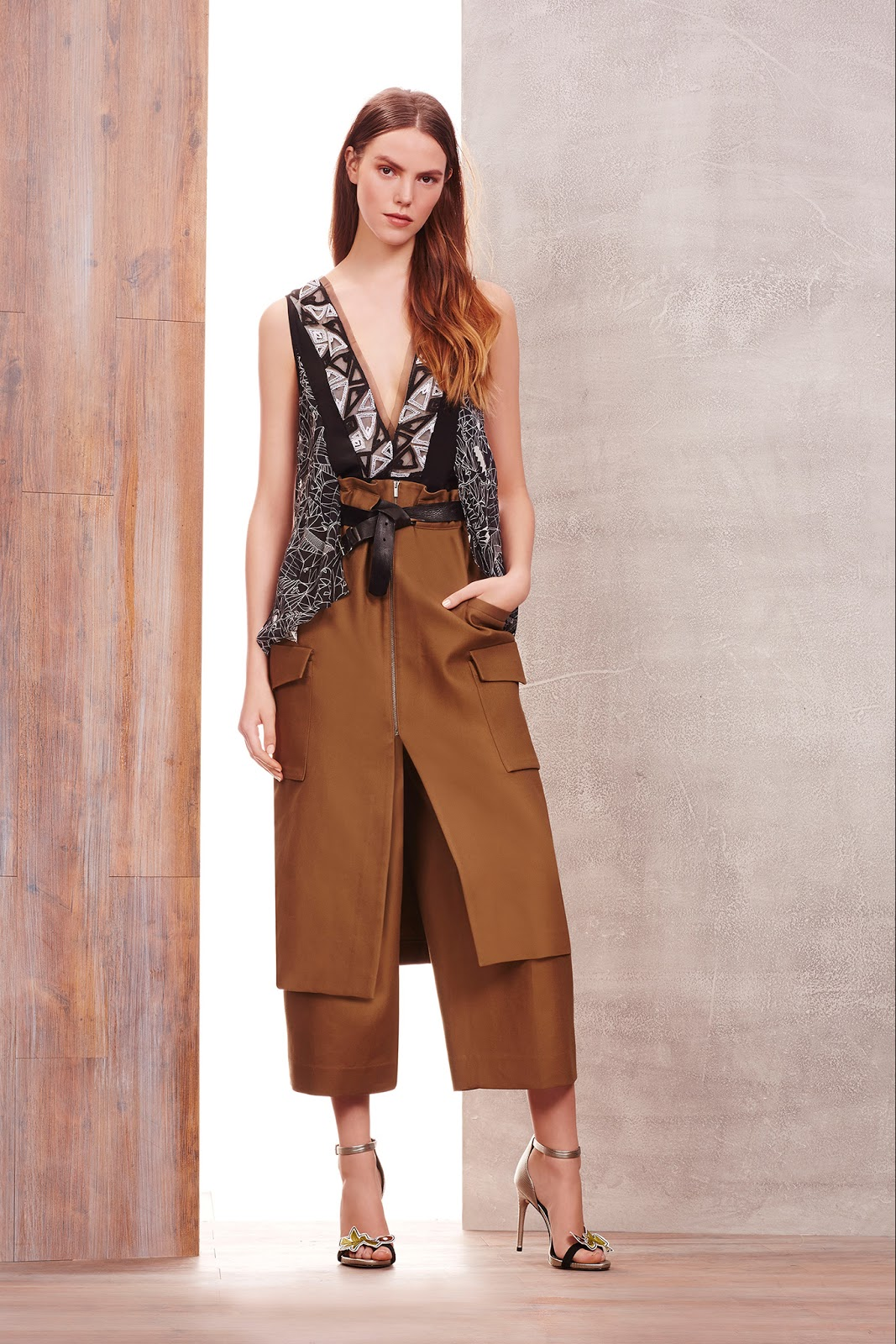 via fashioned by love | BCBG Pre-Fall 2015 | camel trends | 2015