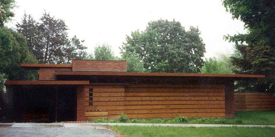 usonian visitor s center fsc a view from the library