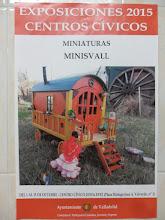 Exposicion en Valladolid de Miniaturas hechas artesanalmente