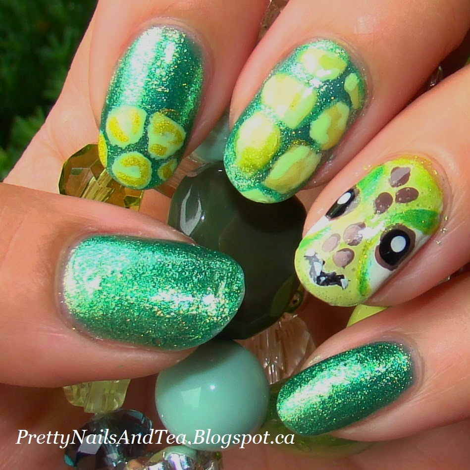 The Tropical Turtle | PrettyNailsandTea.blogspot.ca