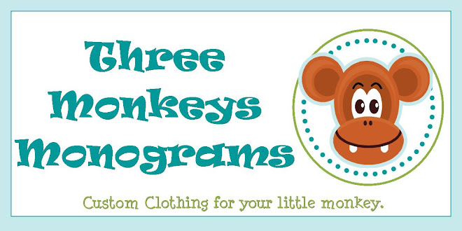 Three Monkeys Monograms