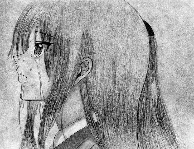 hình nền anime buồn cô đơn nhất