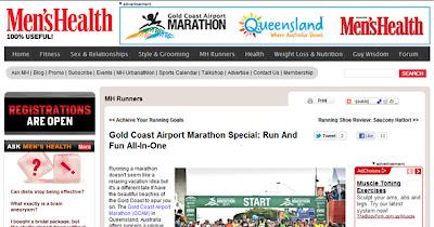 Men's Health: Gold Coast Airport Marathon Special