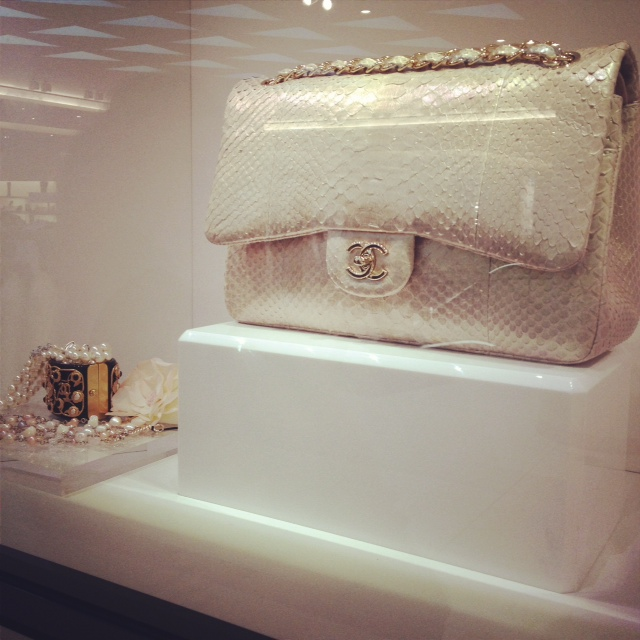 Chanel Flap, white Chanel Flap, Python flap, Designer purse, Chanel, HG bag, Holy Grail Purse, Jumbo flap