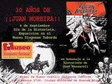 Los 30  Años de Juan Moreira -  Charla y brindis, sábado 7 de septiembre, 18 horas