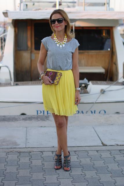 Woakao dress, pleated skirt dress, Fashion and Cookies, fashion blogger