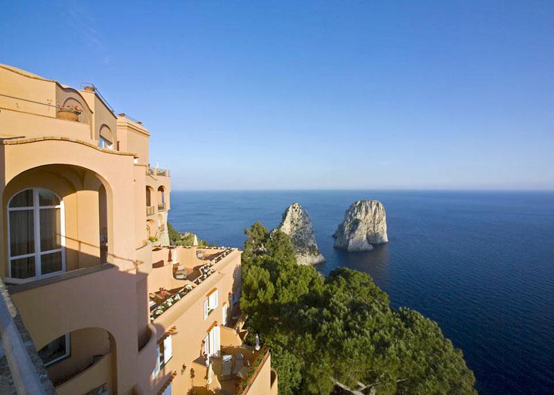 Punta Tragara Hotel Capri Italy