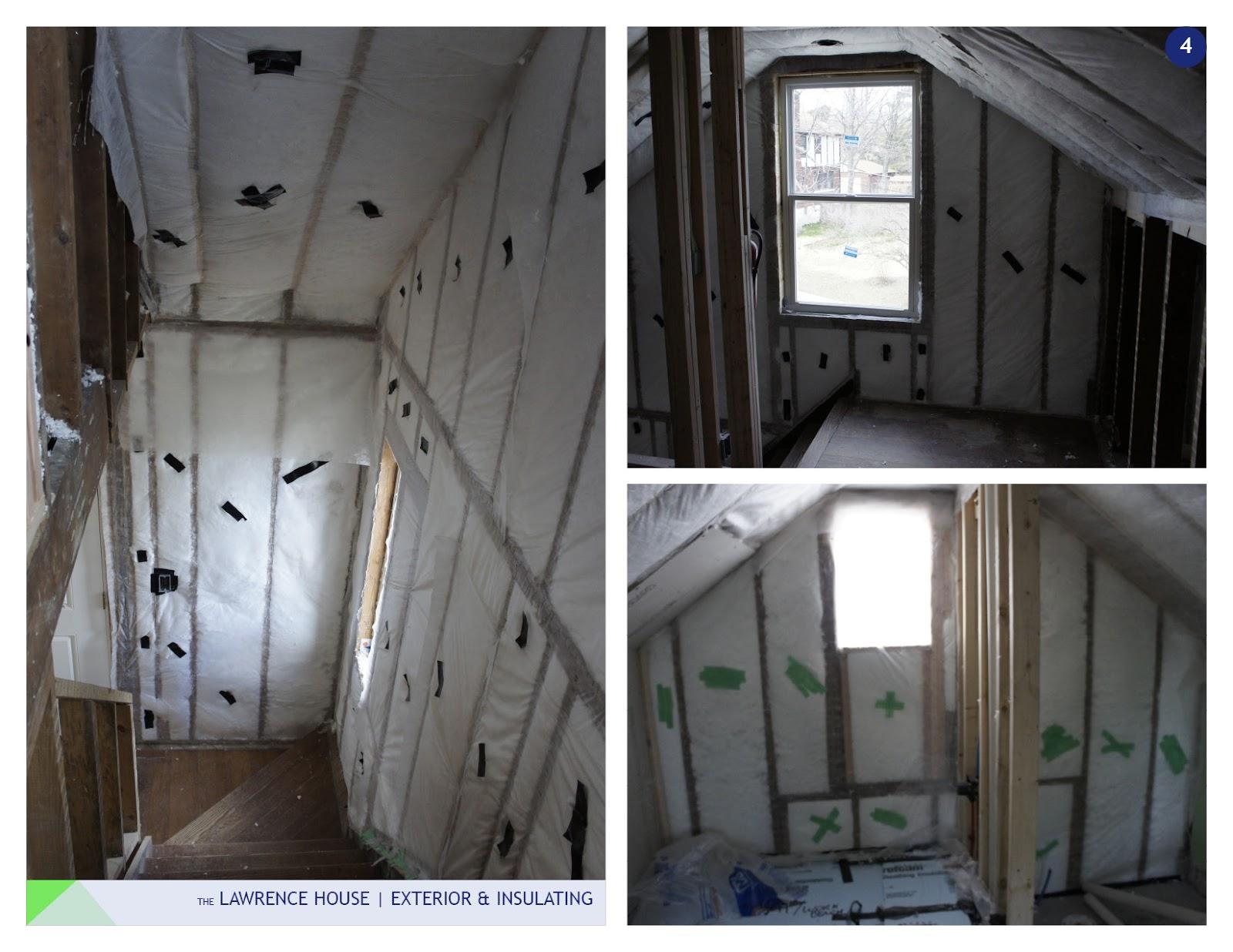 Smarter single family exterior insulation for Exterior insulation