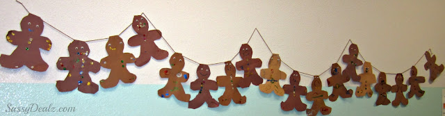 gingerbread christmas bulletin board