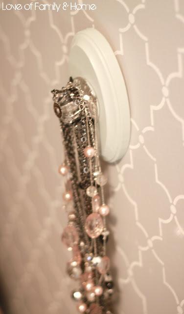 DIY Jewelry Hangers
