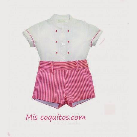 Conjunto camisa y pantaló de verano ,moda infantil