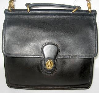 Vintage Coach Station Bag