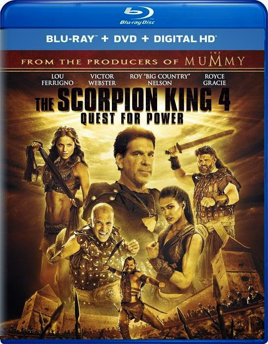 The Scorpion King 4 Quest for Power (2015) BluRay 720p
