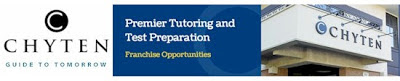 Chyten Educational Services Tutoring Franchise. Premier Tutoring & Test Preparation Franchise. The Only Franchise Of Its Kind In America!
