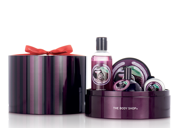 Ciruela escarchada de The Body Shop