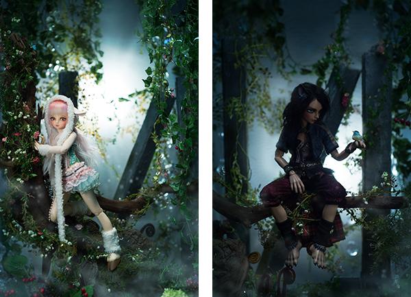 Fairyland Minifee Rin and Tika