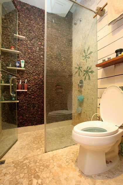 Wall and floor bathroom natural stone home design interior Natural stone bathroom floor