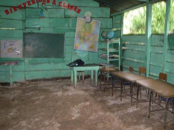 L'intérieur d'une classe côté moderne... ''Ouf''