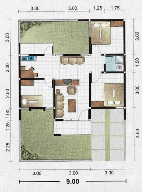 Desain Rumah Minimalis Modern  Kamar Tidur Paling Bagus Rumah Minimalis