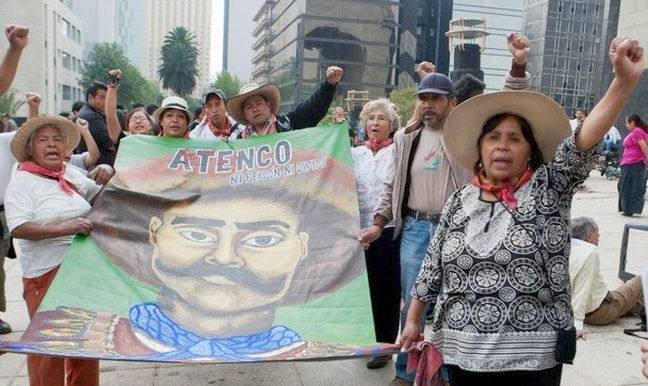 En Atenco la lucha por la tierra no ha terminado: FPDT