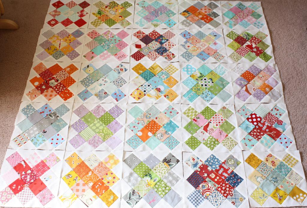 Quilt Patterns Using 6 Inch Squares : Why Not Sew?: Honey Bees, Granny Squares and Simple Patchwork