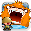 Angry King Kong Icon Logo