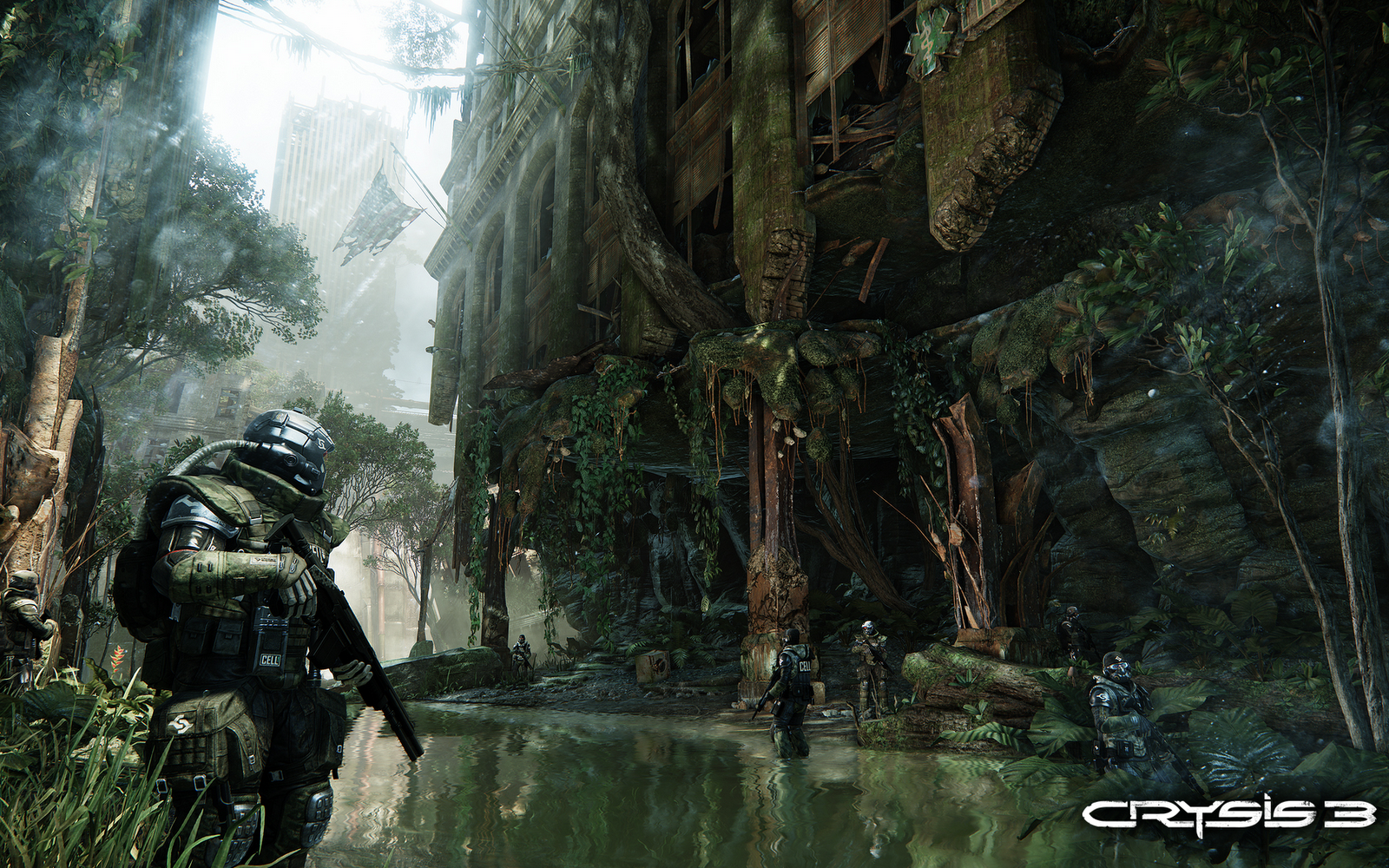 crysis 3 new game hd wallpapers and dvd cover desktop