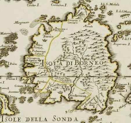 Sejarah asal usul BORNEO