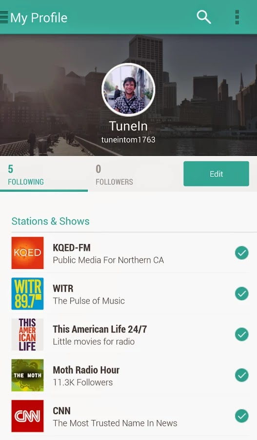 TuneIn Radio Pro v12.8