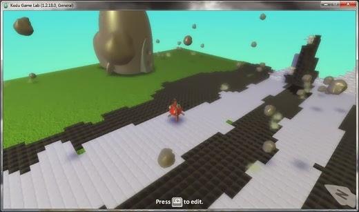 Kodu screenshot  Membuat 3D Game Tanpa Coding Dengan Kodu Game Labs