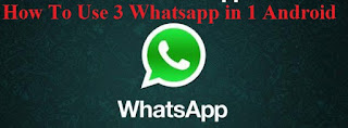 How to use 3 whatsapp