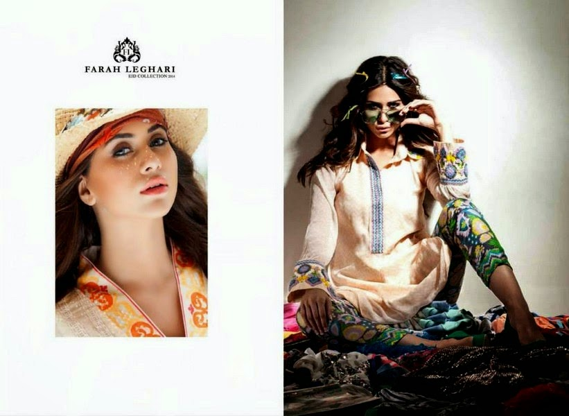 Farah Leghari Eid Dress Collection 2014