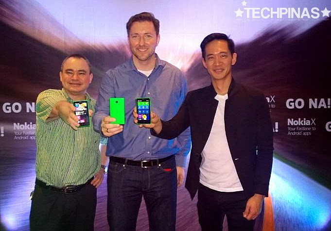 Mike Smith, Karel Holub, Gary Chan, Nokia