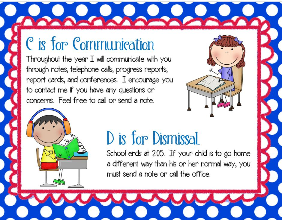 meet the teacher night ideas second grade