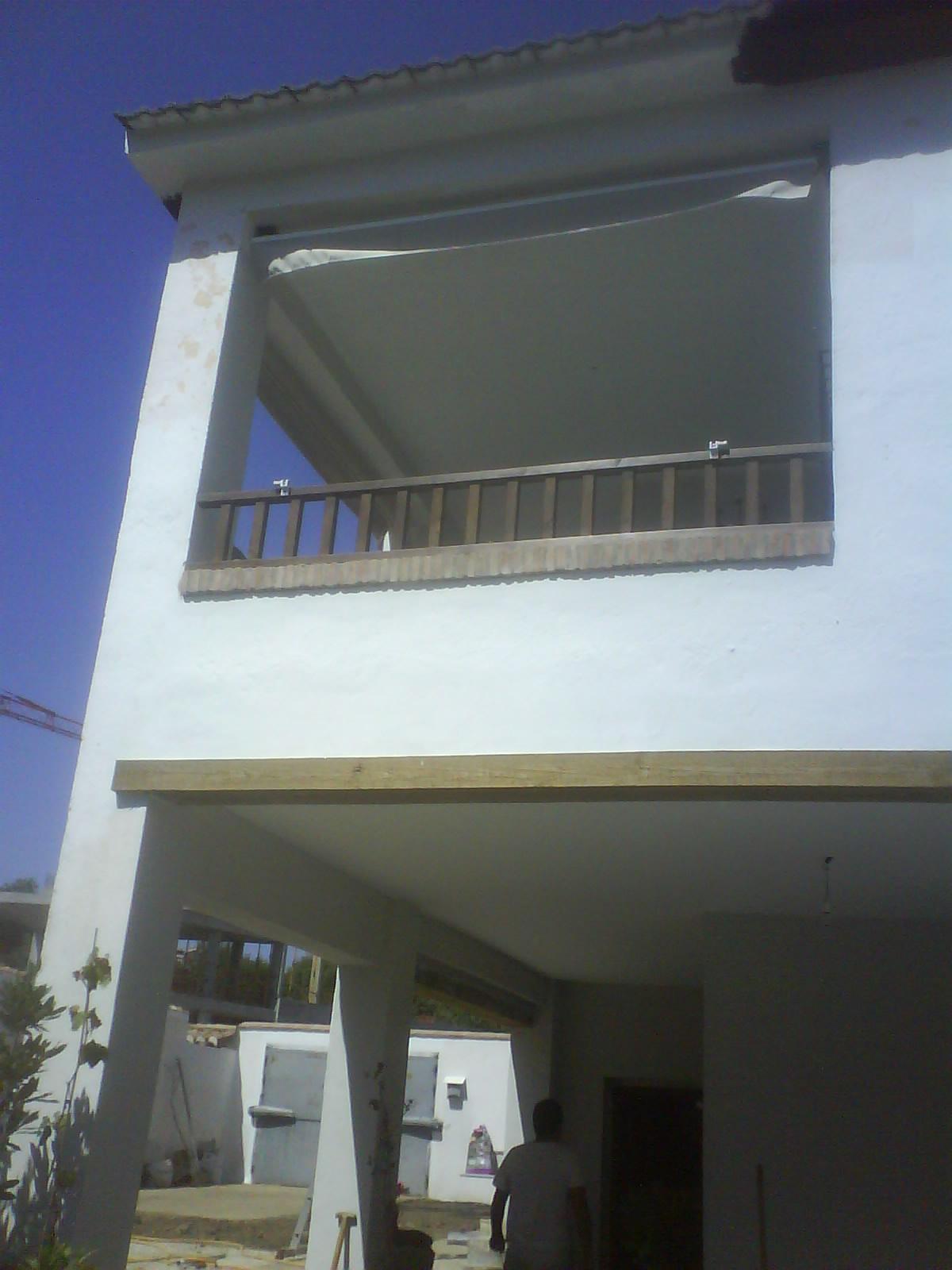 Carpinter a baena barandilla de exterior for Muebles baena