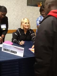 Pastor Sheryl Brady Book Signing