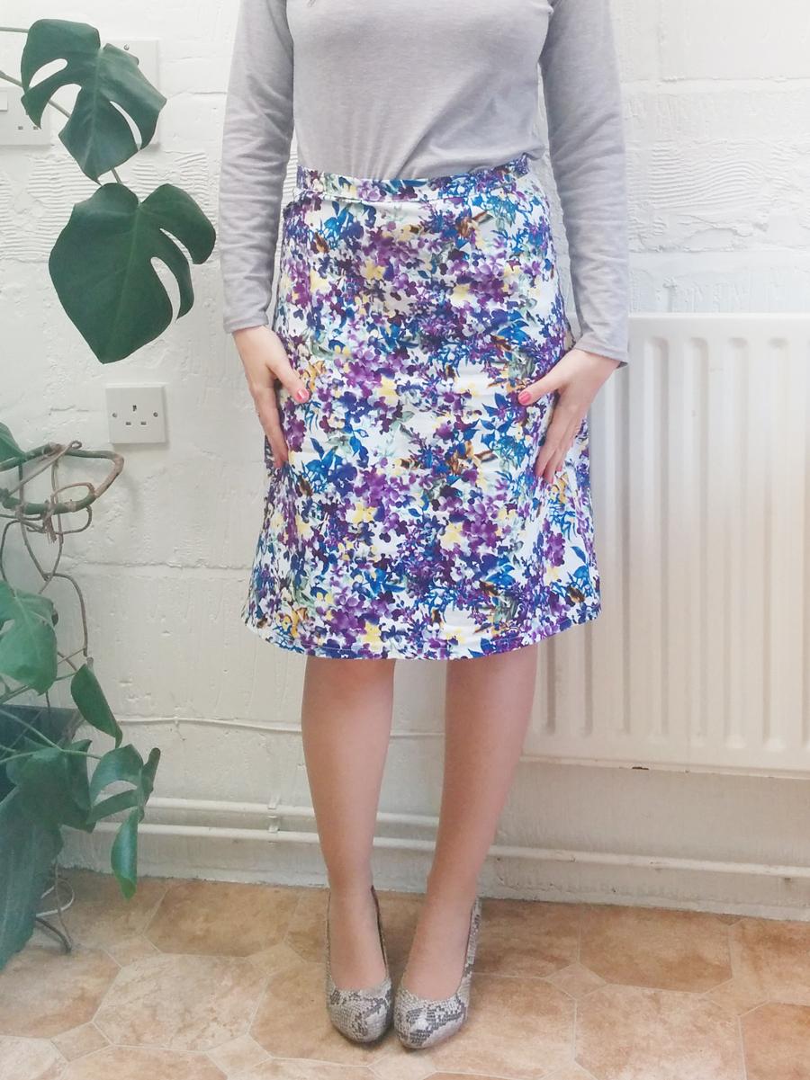Me Made May 2015 vintage floral skirt