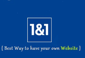 Easiest way to get a Website made and hosted - 1&1.com