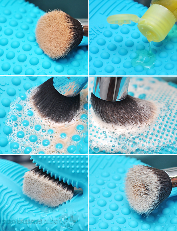 How Brush Cleaning Glove Works