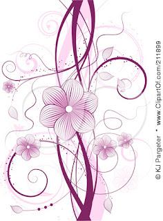 Displaying (19) Gallery Images For Floral Vine Design... Flower Vine Clipart