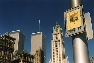 A linea with Twin Towers and Woolworth Building - May 23, 1994