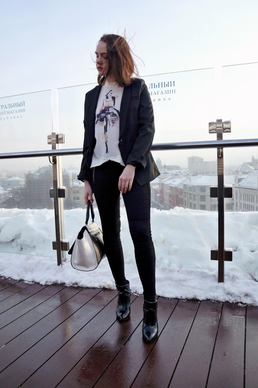 Black Blazer Look   Fashion Blogger