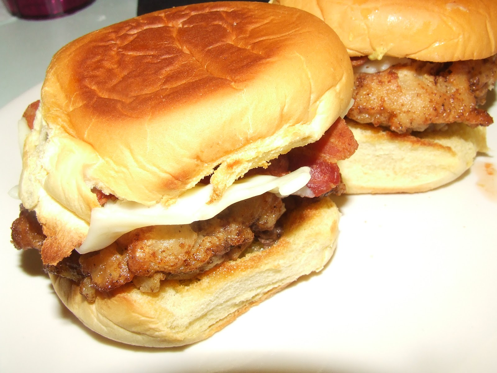 Stuff by Cher: Chicken-fried Bacon Cheeseburger