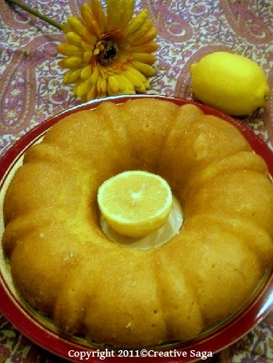 glazed lemon cake