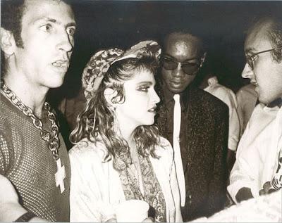 Imagem Madonna Keith Haring O Doce Amigo