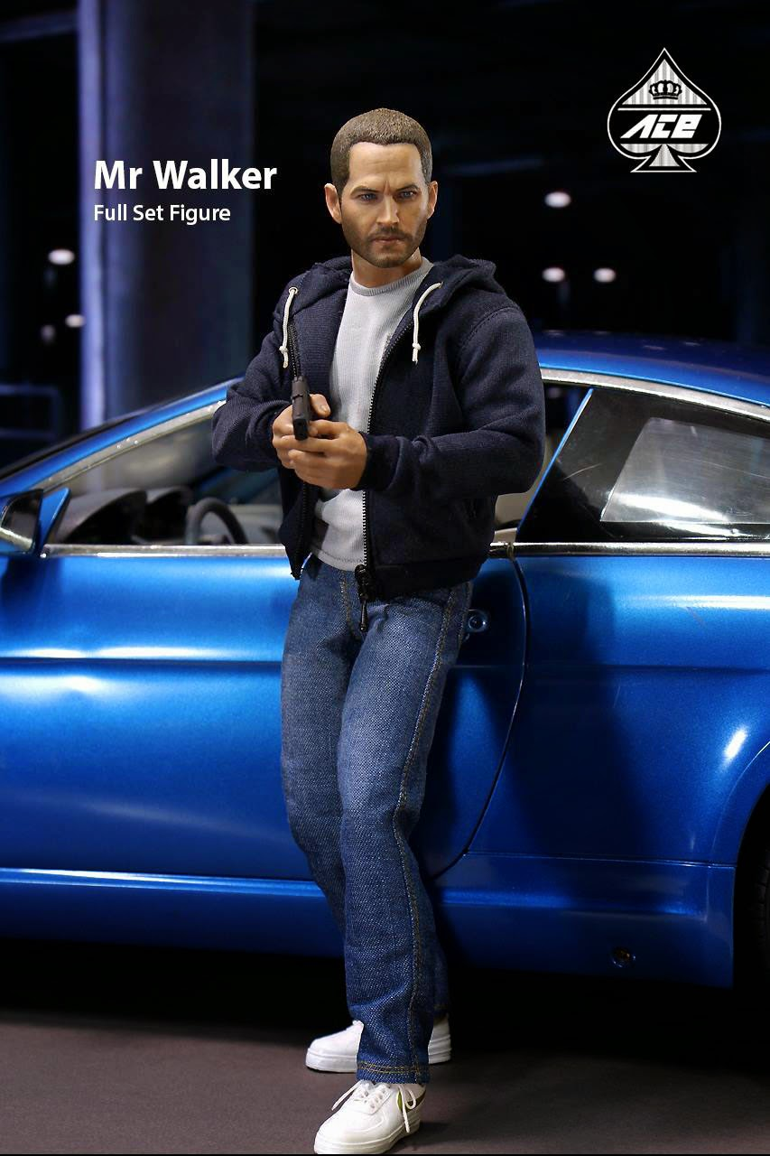 Walker The Fast /& Furious Brian O/'Conner Paul Figure New AceToyz 1//6 AT-004 Mr
