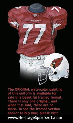 2005 Arizona Cardinals uniform